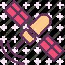 observer, radio, satellite, signal icon