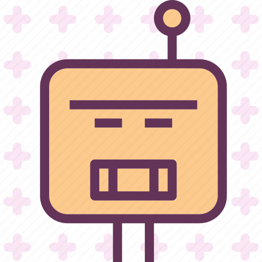 android, robot, space icon
