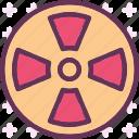 danger, laboratory, radiation, sign