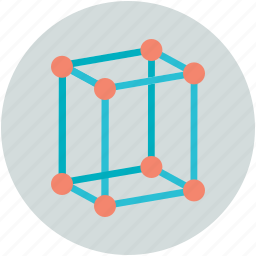 biology, cells, fabrication, molecular cube, molecular structure icon