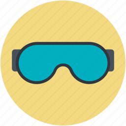 glasses, goggles, safety goggles, ski goggles, swimming goggles icon