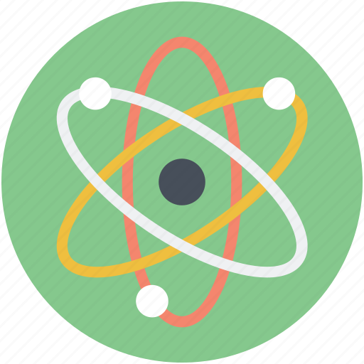 Atom, molecule, nuclear, orbit, proton icon - Download on Iconfinder