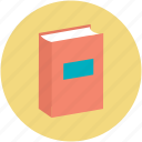 book, education, literature, reading, study icon