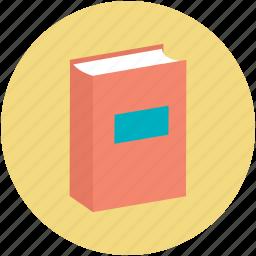 book, education, literature, reading, study icon