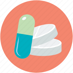 capsule, medication, medicine, pills, tablets icon