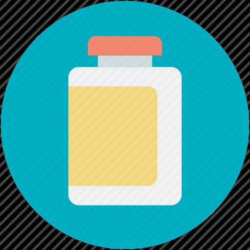container, jar, medicine jar, plastic bottle icon