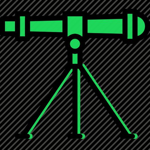 laboratory, research, science, telescope icon