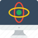 computer, lab, laboratory, research, science icon
