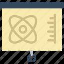 laboratory, presentation, research, science icon