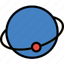 atom, laboratory, research, science icon