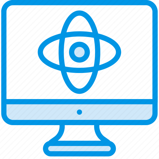 computer, lab, laboratory, research, science icon