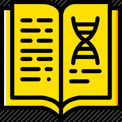 book, laboratory, research, science icon