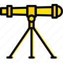 laboratory, research, science, telescope icon