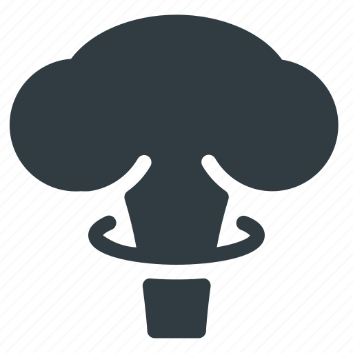 Atomic, bomb, cloud, mushroom, science icon - Download on Iconfinder