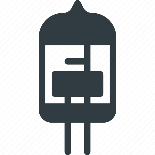 lamp, resistamce, science, transistor icon
