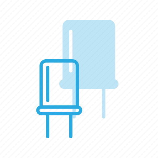 condenser, electronics, science icon