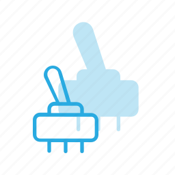 electronics, science, switch icon