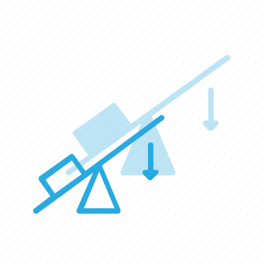 fizics, force, gravity, lifter, science, weight icon