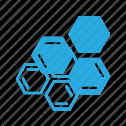 atom, molecule, science, structure icon