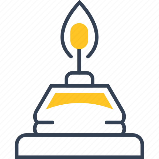 Candle, fire, physic, science icon - Download on Iconfinder