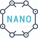 formula, nano, science icon