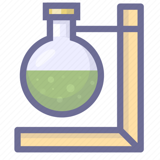 chemistry, physics, trial icon