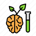 brain, improve, science, space icon