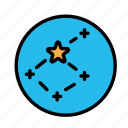 constellation, science, space icon