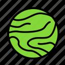 jupiter, science, space icon