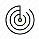 radar, science, space icon