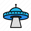 science, space, ufoscan icon