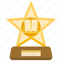 award, prize, trophy, star