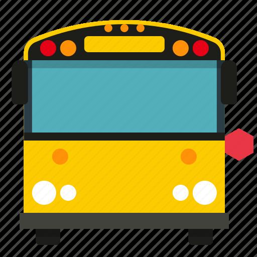 bus, school, study, transport icon