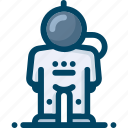astronaut, explorer, person, space, spaceman icon