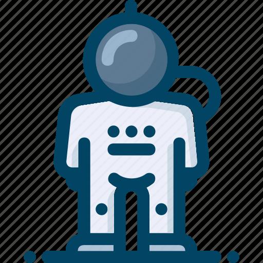 astronaut, explorer, person, space, spaceman icon