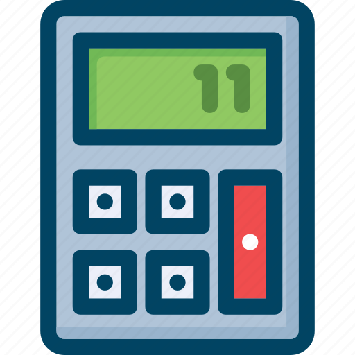 account, calculator, mathematics, sum icon
