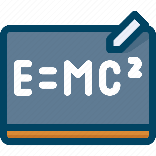 Board, chalkboard, education, physics, school, science icon - Download on Iconfinder