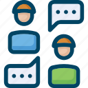 answer, chat, communication, conversation, question icon