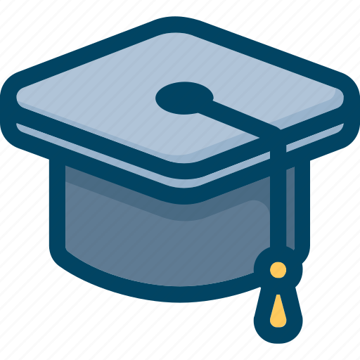 Academic, cap, hat, student, university icon - Download on Iconfinder