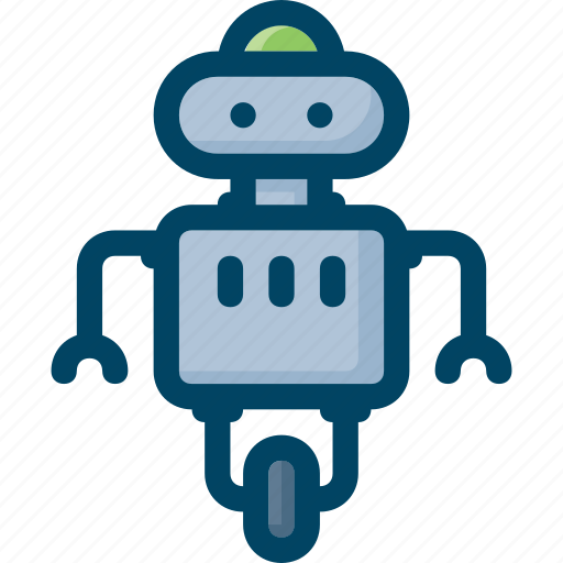 droid, fututre, robot, science, technology icon