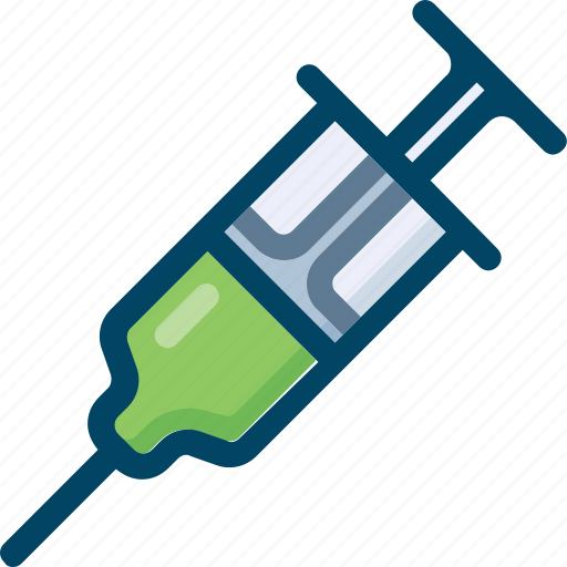 Injection, medicine, needle, science, syringe icon - Download on Iconfinder