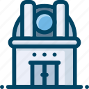 astronomy, observatory, scape, telescope icon