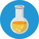 acetic, acid, biology, bottle, flask, laboratory, tube icon