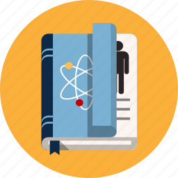 anatomy, book, health, research, science icon