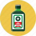 alcohol, bitter, bottle, digestive icon