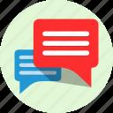 talks, conversation, chat, row