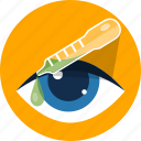 cure, drop, eyes, medicine, ophthalmology icon