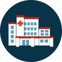 building, construction, healthcare, hospital, laboratory, medicine, research icon