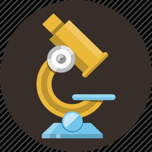laboratory, medicine, microscope, research, science icon
