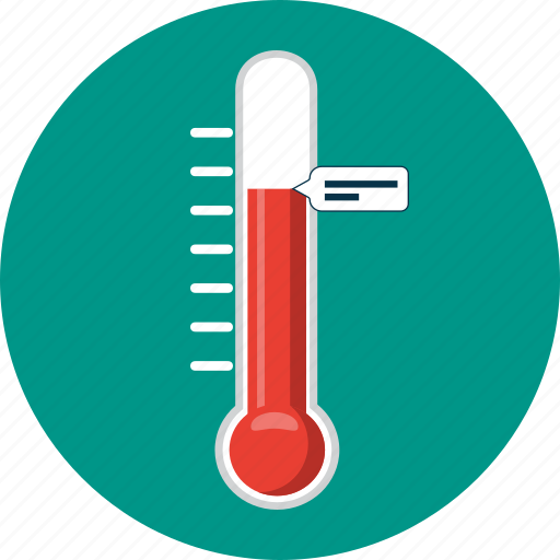 fever, laboratory, medicine, temperature, thermometer, weather icon